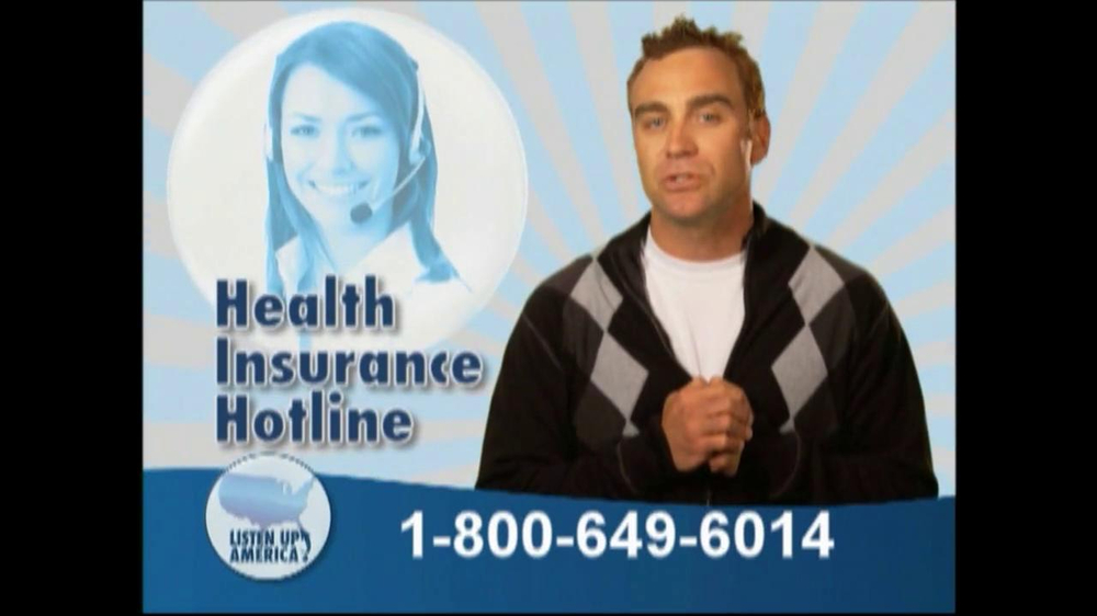 Listen Up America TV Spot, 'Health Insurance Helpline' - Screenshot 6