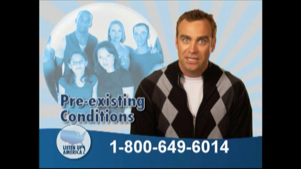 Listen Up America TV Spot, 'Health Insurance Helpline' - Screenshot 7