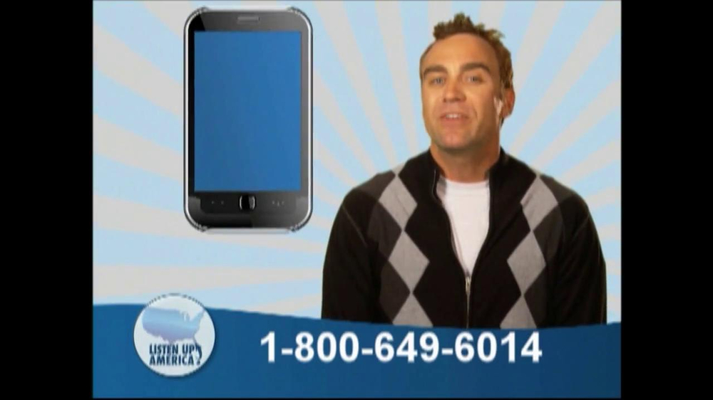 Listen Up America TV Spot, 'Health Insurance Helpline' - Screenshot 9