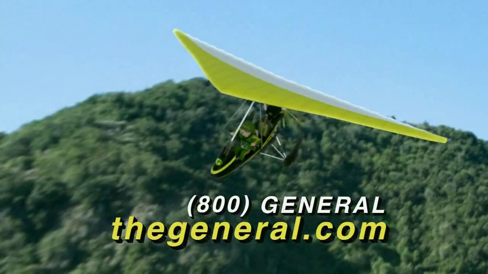 The General TV Commercial, 'Glider' - iSpot.tv