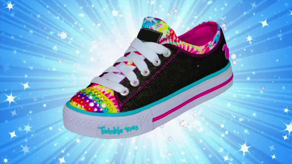 Skechers TV Spot For Twinkle Toes Shoes - Screenshot 8