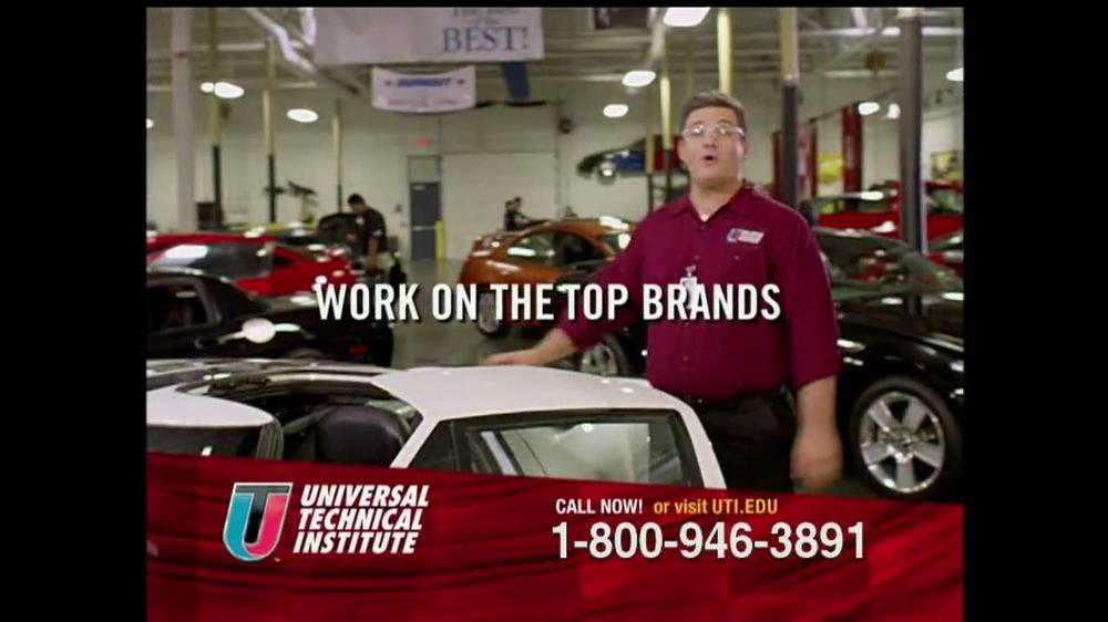 Universal Technical Institute (UTI) TV Spot For Guys Like You