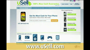 uSell.com TV Spot For Sell Your Old Electronics thumbnail
