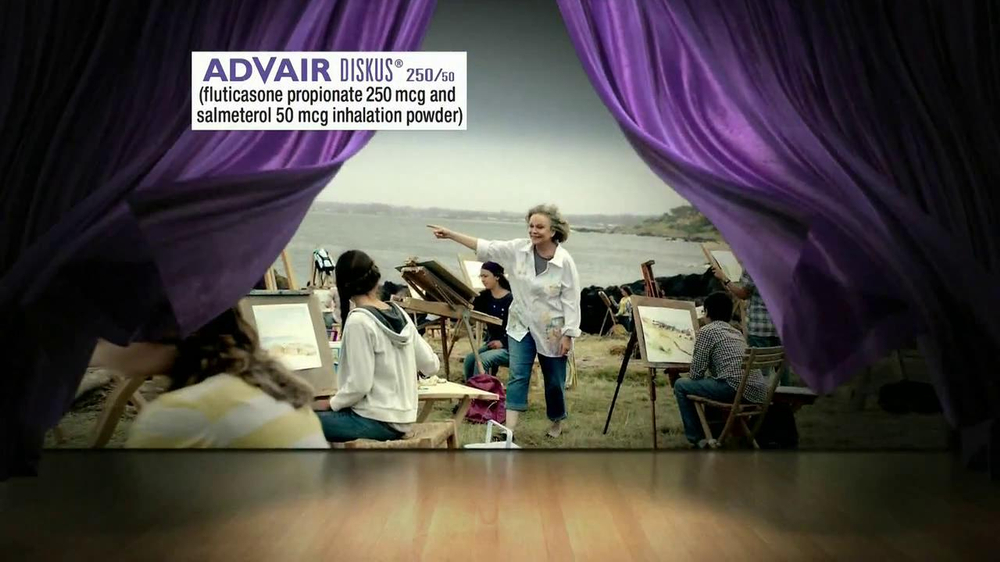 Advair TV Spot, 'Painting' - Screenshot 2