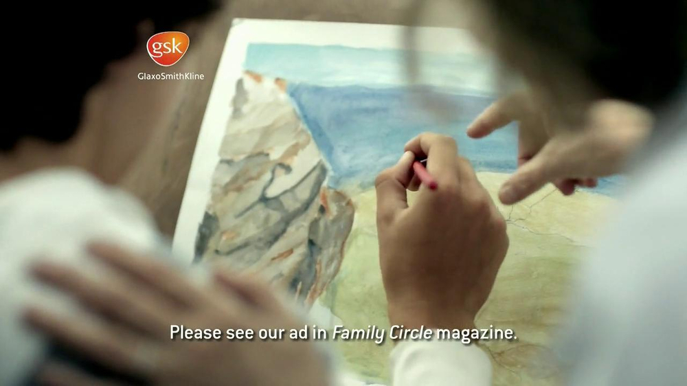 Advair TV Spot, 'Painting' - Screenshot 6