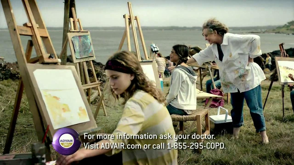 Advair TV Spot, 'Painting' - Screenshot 7
