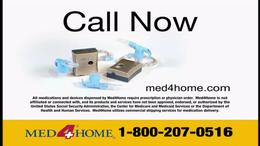 Med 4 Home TV Spot For Portable Nebulizer - Screenshot 10