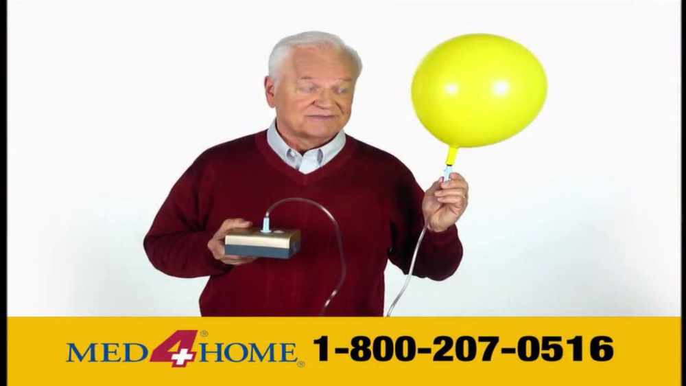 Med 4 Home TV Spot For Portable Nebulizer - Screenshot 4