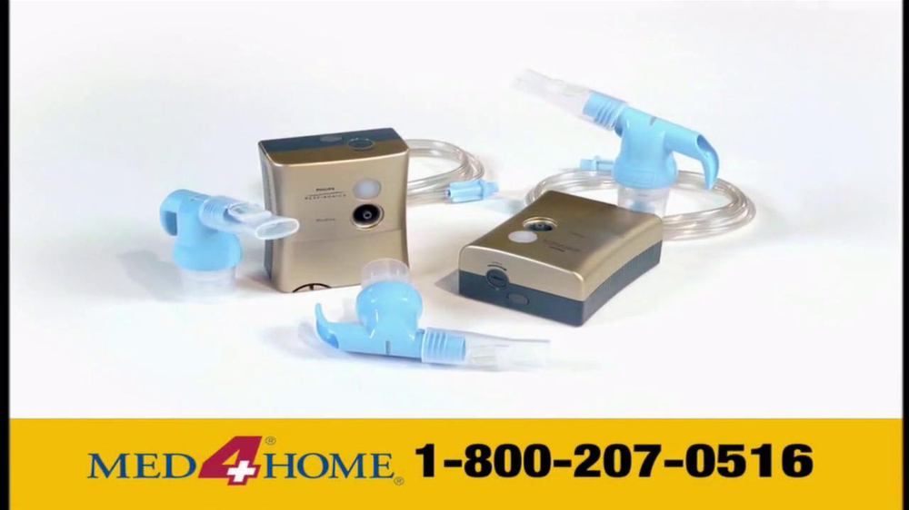 Med 4 Home TV Spot For Portable Nebulizer - Screenshot 5