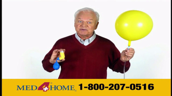 Med 4 Home TV Spot For Portable Nebulizer - Thumbnail 9