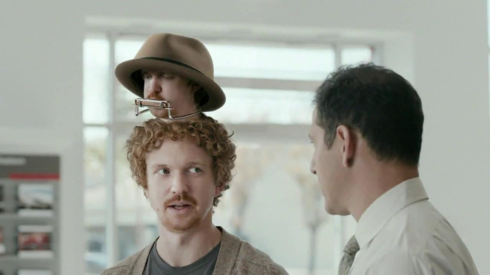 Cars.com TV Spot, 'Singing Harmonica Hat Confidence' - Screenshot 8