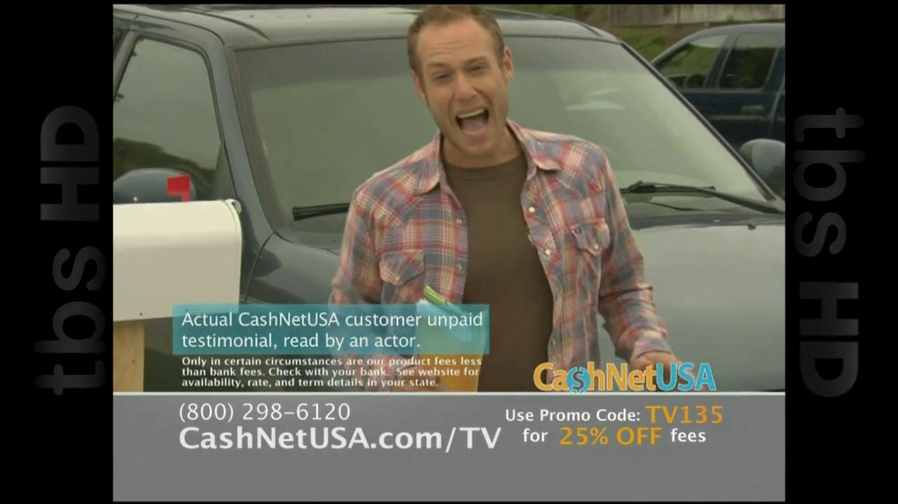 Cash Net USA TV Spot For Loans - Screenshot 3