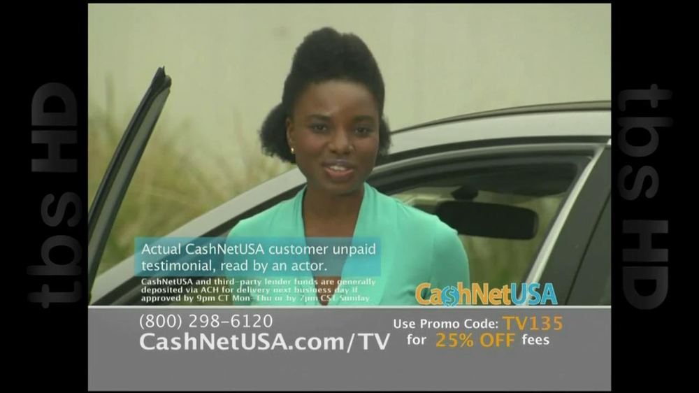 Cash Net USA TV Spot For Loans - Screenshot 4