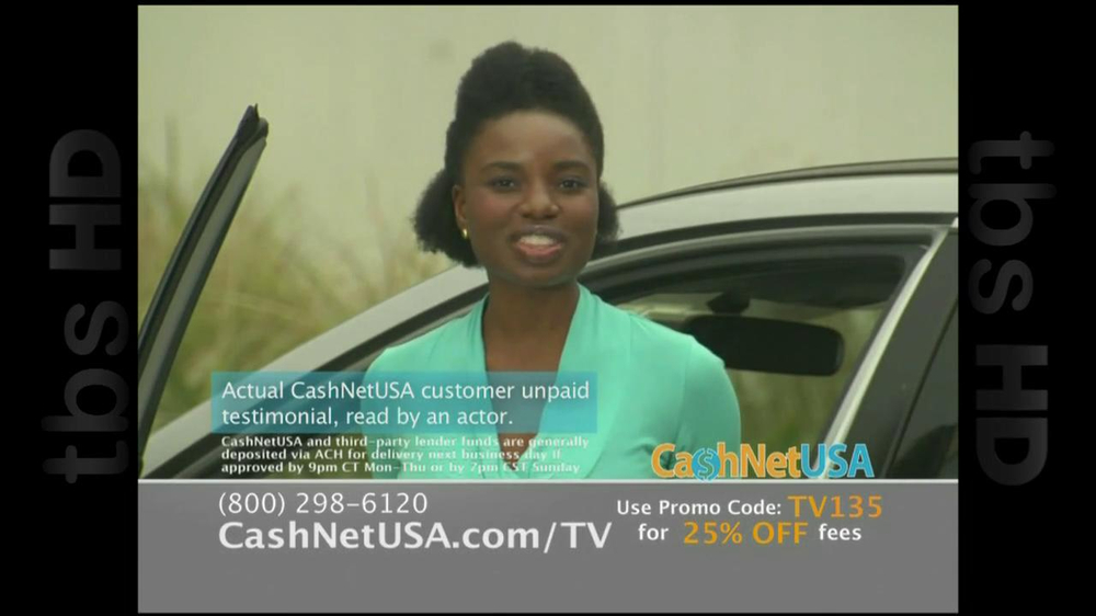Cash Net USA TV Spot For Loans - Screenshot 5