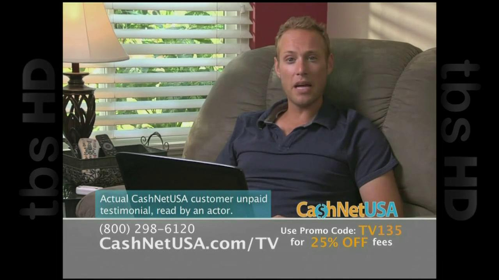 Cash Net USA TV Spot For Loans - Screenshot 6