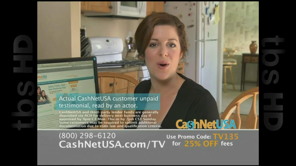 Cash Net USA TV Spot For Loans - Screenshot 7