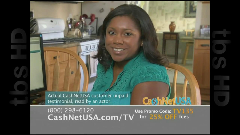 Cash Net USA TV Spot For Loans - Screenshot 9