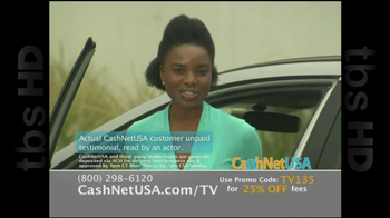 Cash Net USA TV Spot For Loans - Thumbnail 4