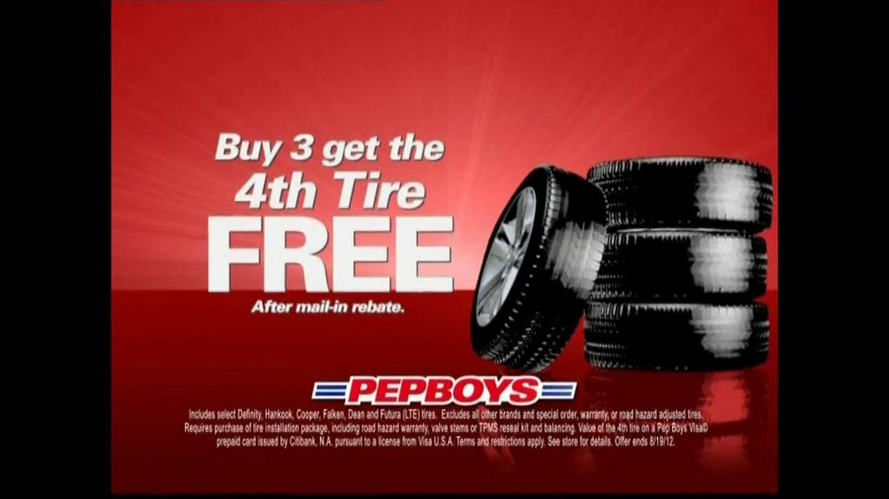 pepboys tv commercial for oil change and tire deals. Black Bedroom Furniture Sets. Home Design Ideas