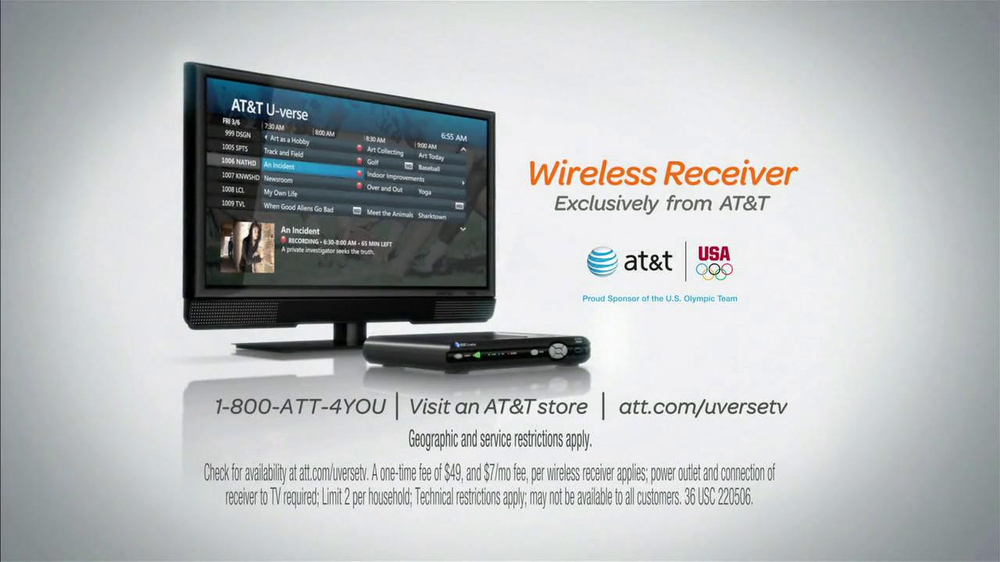 AT&T U-Verse Wireless Receiver TV Spot, 'Who's Bob?' - Screenshot 10