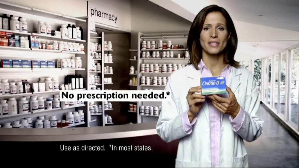 Claritin Tv Commercial For Claritin D 24 Hour Ispot Tv