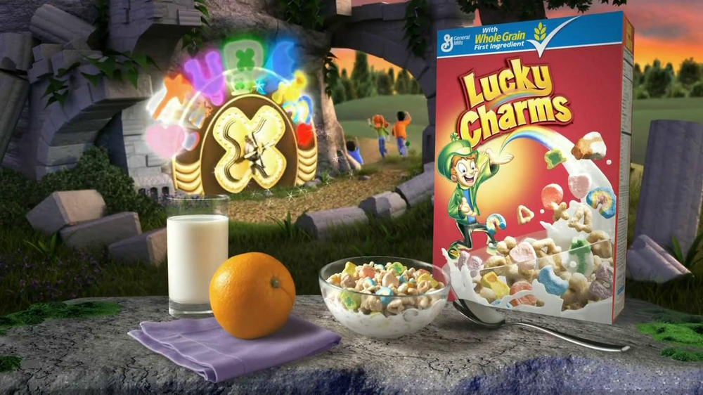 lucky charms tv commercial pictures to pin on