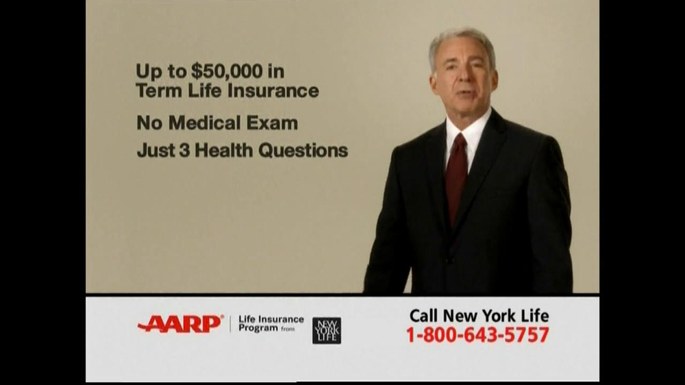 AARP TV Spot For Level Benefit Term Life Insurance - Screenshot 2