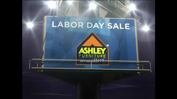Ashley Furniture Homestore Tv Commercial For Labor Day Sale