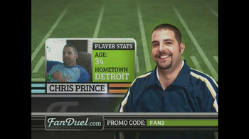 FanDuel.com TV Spot for Fantasy Football