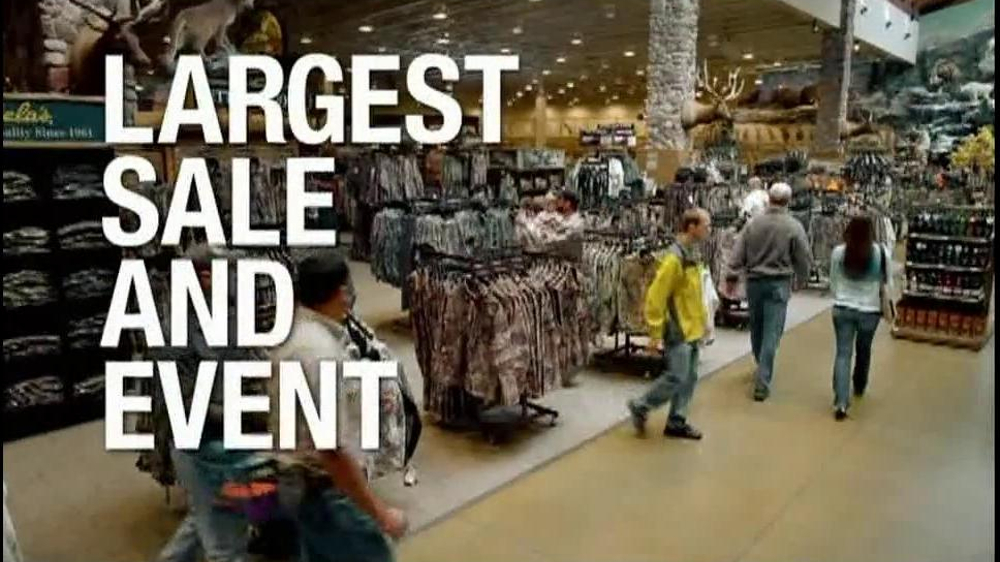 Cabela 39 s hunting fishing outdoor gear tv commercial for for Cabela s ice fishing