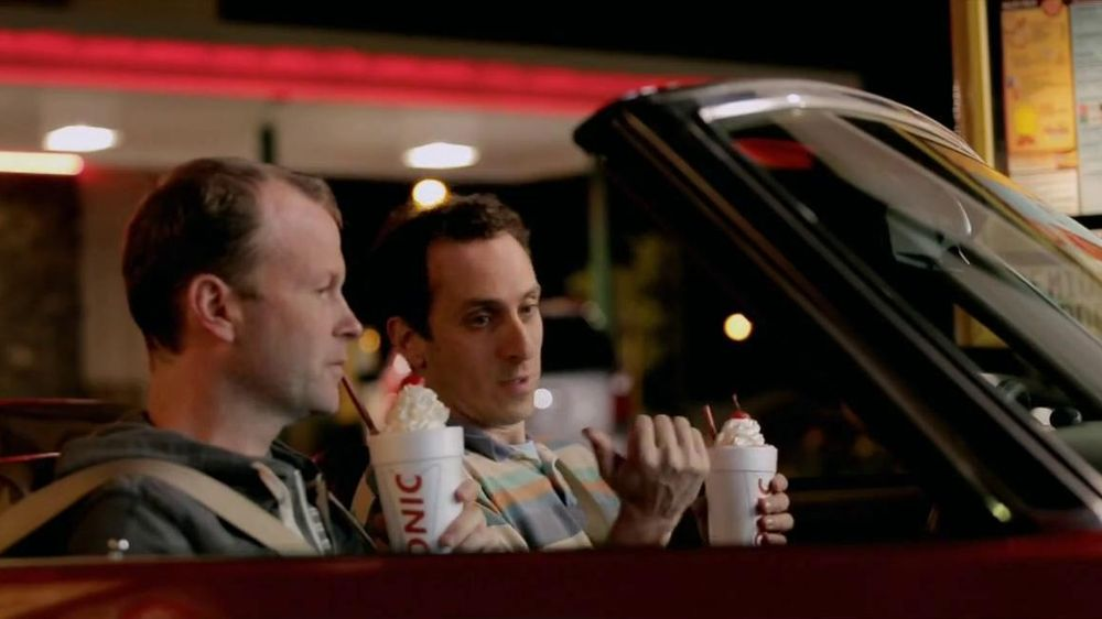 Sonic Drive-In TV Spot, 'Half-Price Shakes After 8 PM' - Screenshot 4