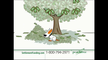 Peachtree Financial TV Spot For Get Rid Of Debt Dog Animation