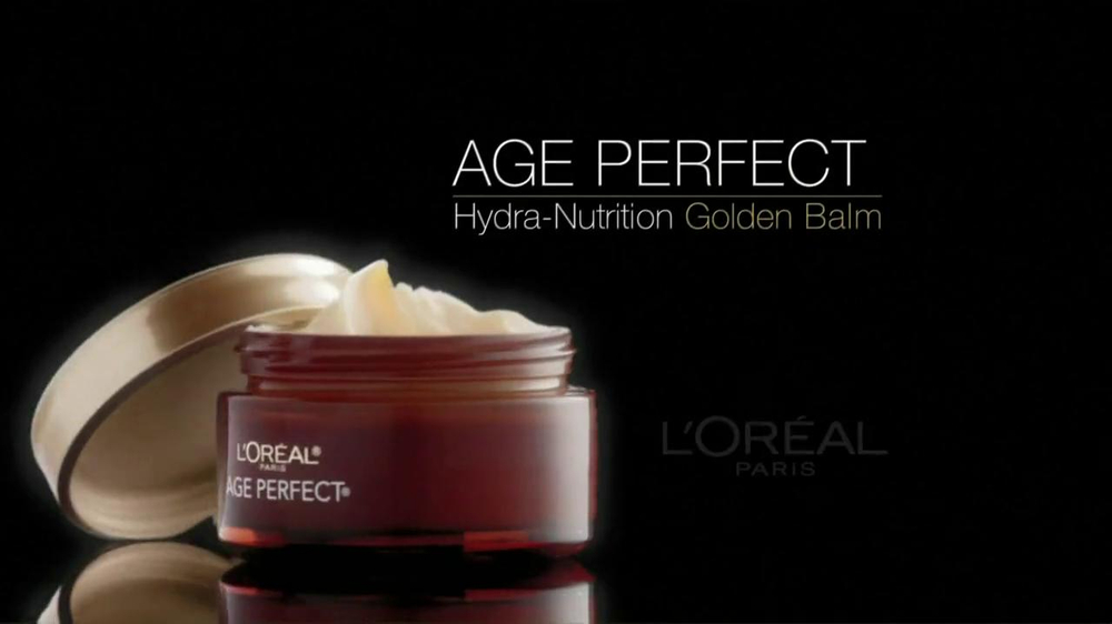 L'Oreal Age Perfect Hydra-Nutrition Golden Balm TV Spot Feat. Diane Keaton - Screenshot 2