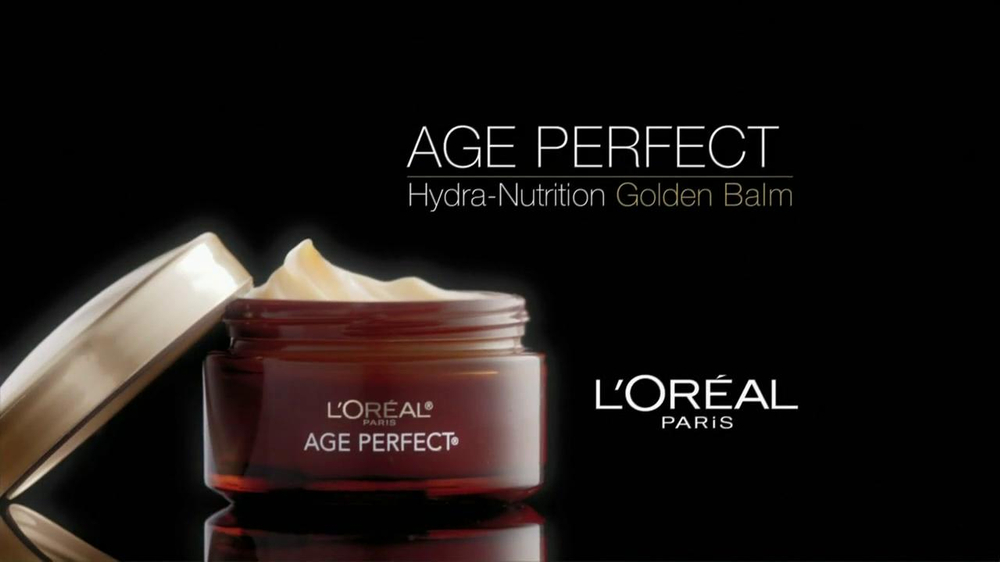 L'Oreal Age Perfect Hydra-Nutrition Golden Balm TV Spot Feat. Diane Keaton - Screenshot 3