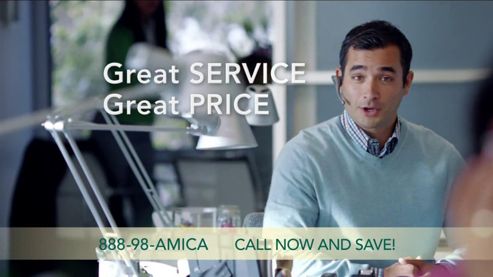 Amica mutual insurance company tv commercial for amica for Is amica insurance good