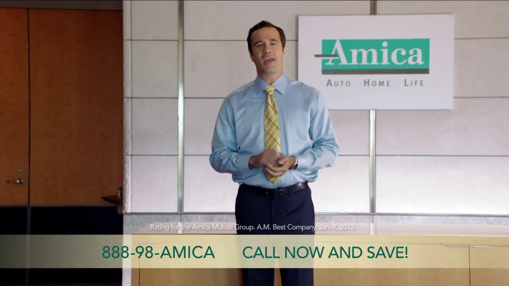 amica insurance tv commercial 39 finding the right insurance 39. Black Bedroom Furniture Sets. Home Design Ideas
