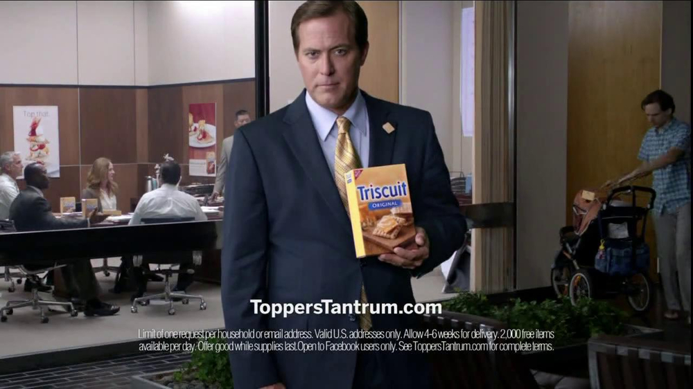 Triscuit TV Spot For Toppers Tantrum - Screenshot 8