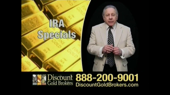 Discount Gold Brokers TV Spot For Buy Gold Now