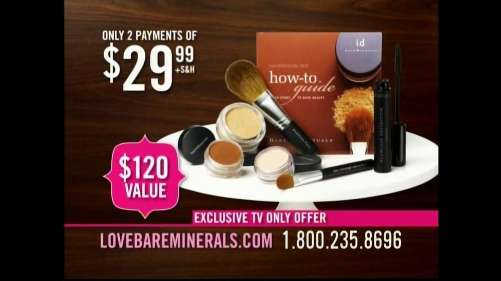 Bare Minerals TV Spot, 'Exclusive TV Offer' - Screenshot 7