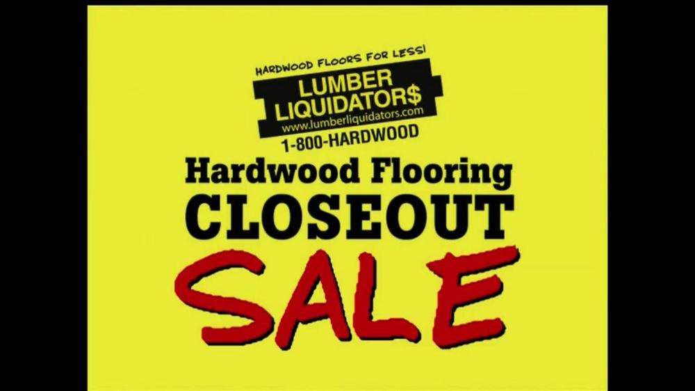 Lumber liquidators tv commercial for hardwood flooring for Hardwood flooring sale