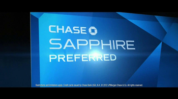 Chase Sapphire Preferred TV Spot, 'Dining'