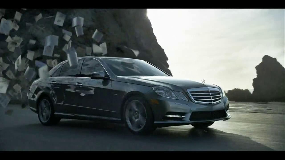 mercedes benz tv commercial for e 350
