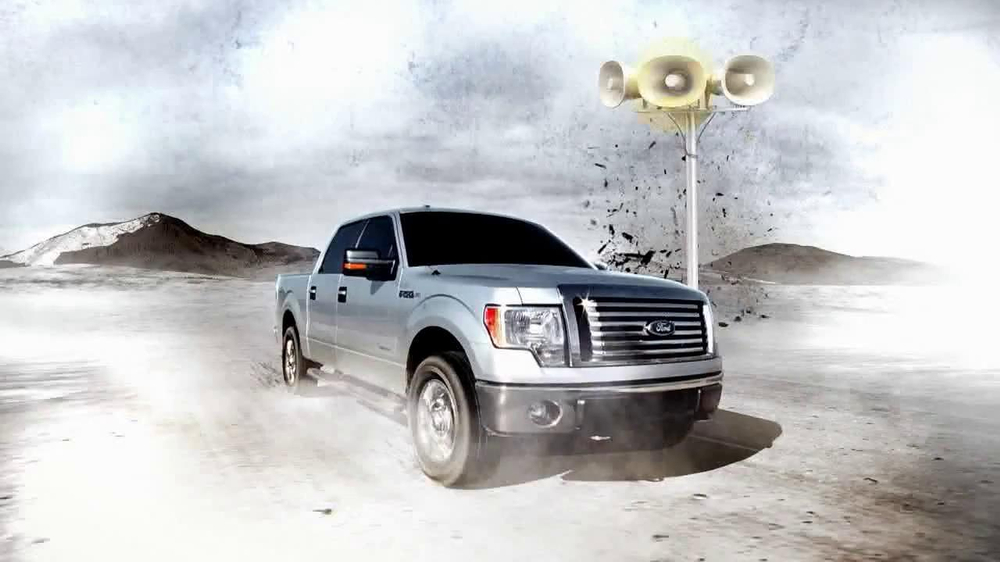 Ford truck tv commercials 2012