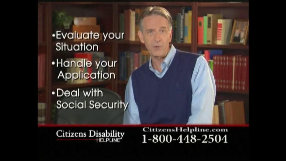 Citizens Disability Helpline TV Spot For Disability - Screenshot 9