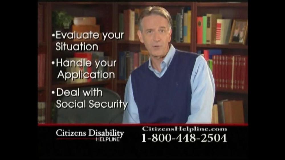 Citizens Disability Helpline TV Spot For Disability - Screenshot 9