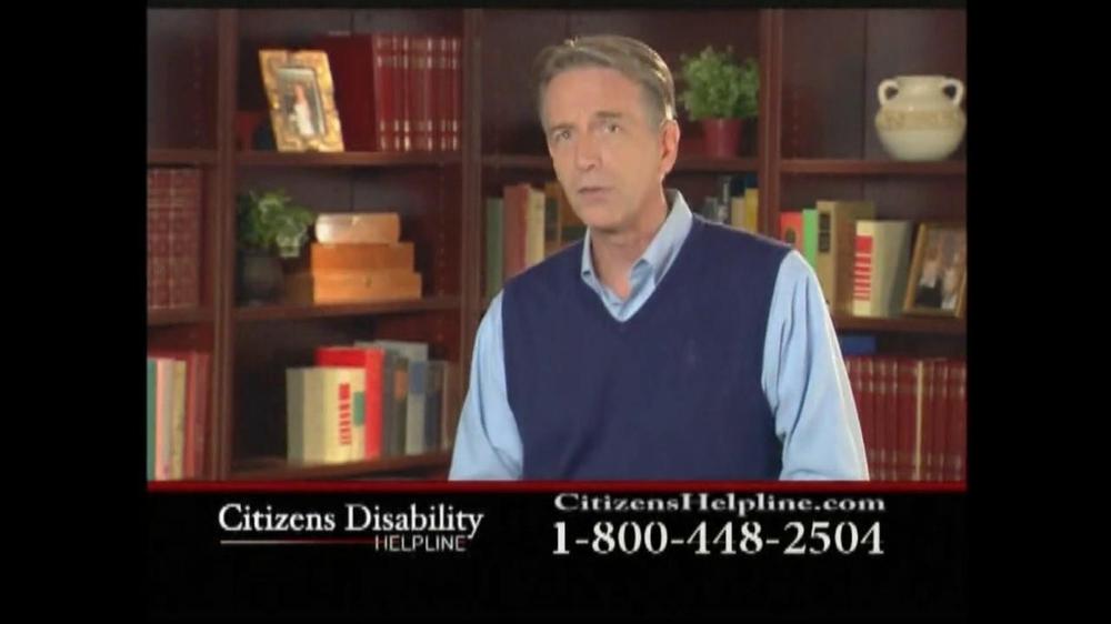 Citizens Disability Helpline TV Spot For Disability - Screenshot 2