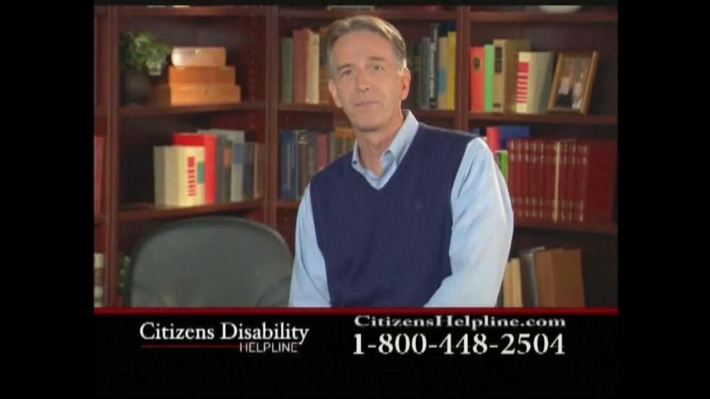 Citizens Disability Helpline TV Spot For Disability - Screenshot 3