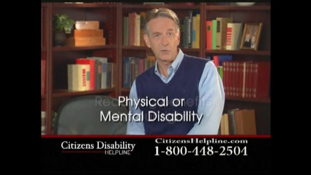 Citizens Disability Helpline TV Spot For Disability - Screenshot 4