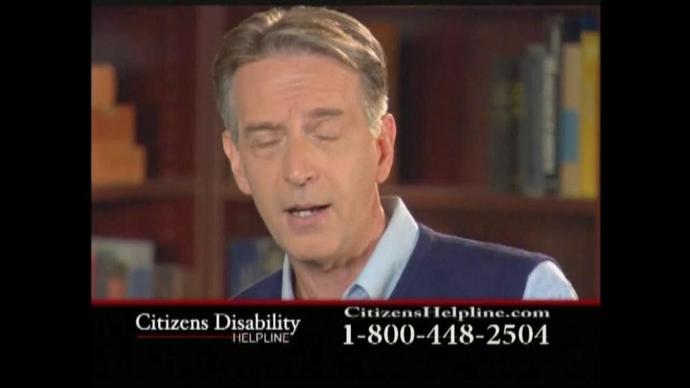 Citizens Disability Helpline TV Spot For Disability - Screenshot 6