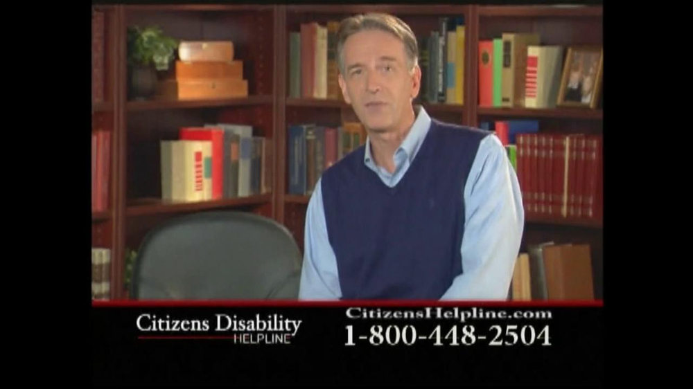 Citizens Disability Helpline TV Spot For Disability - Screenshot 7